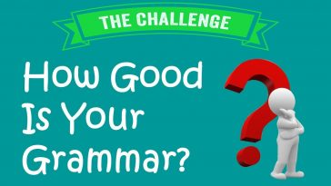How good is your grammar