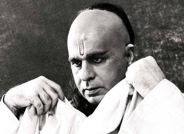 Dilip Kumar as Chanakya in the movie Chanakya